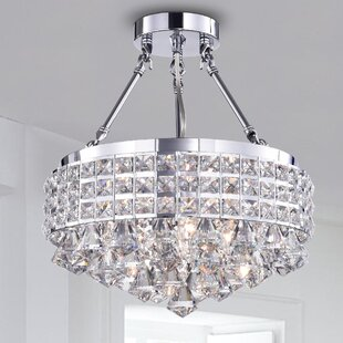 Harleigh 4-Light Semi Flush Mount by House of Hampton