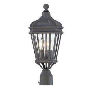 Harrison Outdoor 3-Light Lantern Head by Great Outdoors by Minka