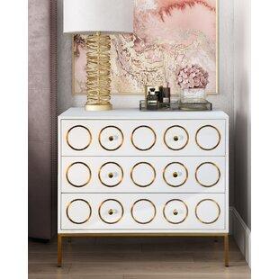 Lynette 3 Drawer Dresser