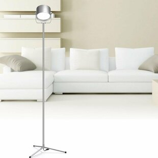 Inexpensive Columbus Remote Control 23.1 LED Tripod Floor Lamp By Ebern Designs