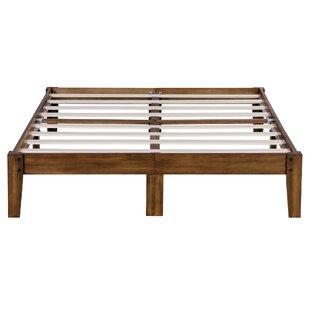 Eli Smart Wood Storage Platform Bed by Millwood Pines