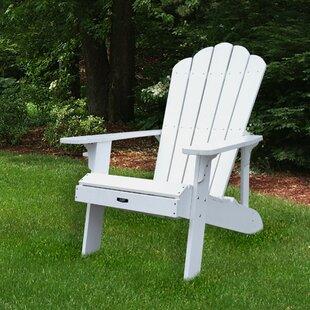 Retreat Plastic Adirondack Chair by Island Umbrella