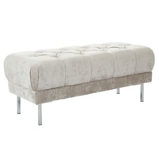 Mercer41 Barrigan Tufted Upholstered Bench
