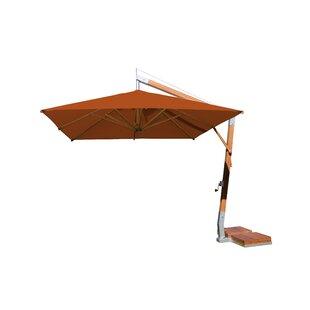 Bambrella Sidewind 10' Square Cantilever Umbrella