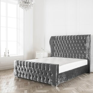 Jocelyn Upholstered Bed Frame By Willa Arlo Interiors