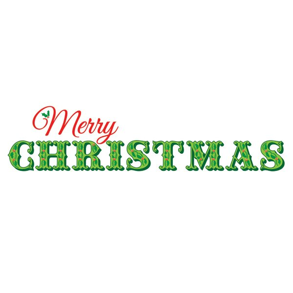 merry christmas wall decal wayfair - Christmas Wall Decal