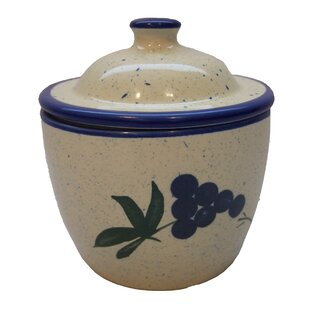 Ceramic Garlic Keeper Spice Jar