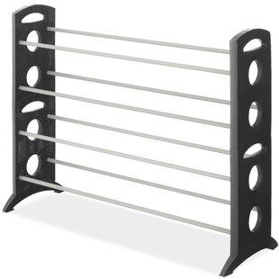 Floor 4-Tier 20 Pair Shoe Rack by Whitmor, Inc