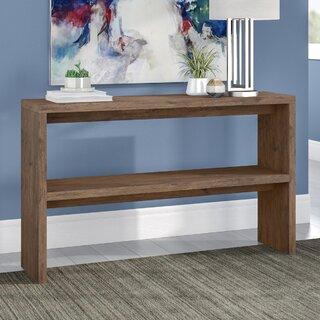 "Norloti Mid-Century 2-Shelf 53"" W Console Table by Langley Street SKU:DE682952 Check Price"