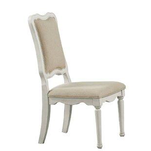Elisa Linen Fabric Upholstery Side Chair