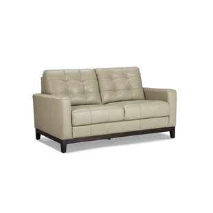 Erdman Leather Loveseat