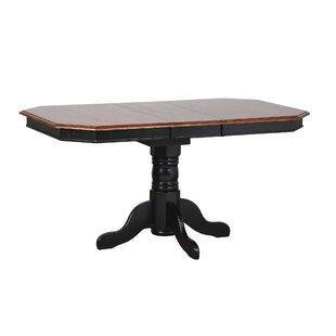 Banksville Extendable Dining Table Loon Peak