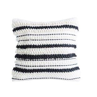 Melgoza Woven Wool Throw Pillow