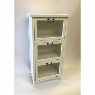 Houston 3 Drawer Accent Cabinet by Highland Dunes