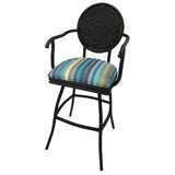 Quillen Swivel Indoor/Outdoor Bar Stool by Red Barrel Studio®