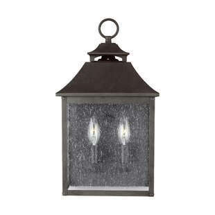 Stults 2-Light Outdoor Wall Lantern
