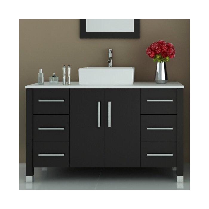 modern single bathroom vanity. Fichter Modern 47.25\ Single Bathroom Vanity