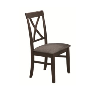 Riojas Dining Chair (Set of 2) Canora Grey