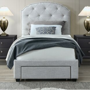 Abbingt Twin Upholstered Storage Panel Bed