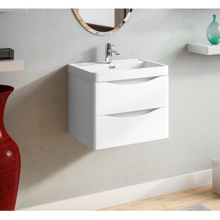 Palethorp 600mm Wall Mounted Vanity Unit By 17 Stories