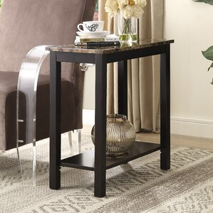 Lediyana End Table by Roundhil..