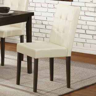 Newton Upholstered Dining Chair (Set of 2) Latitude Run