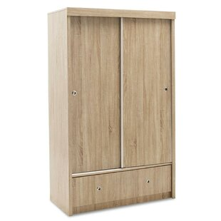 Caudille 2 Door Sliding Wardrobe By 17 Stories