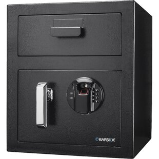 Barska Keypad Depository Safe with Biomet..