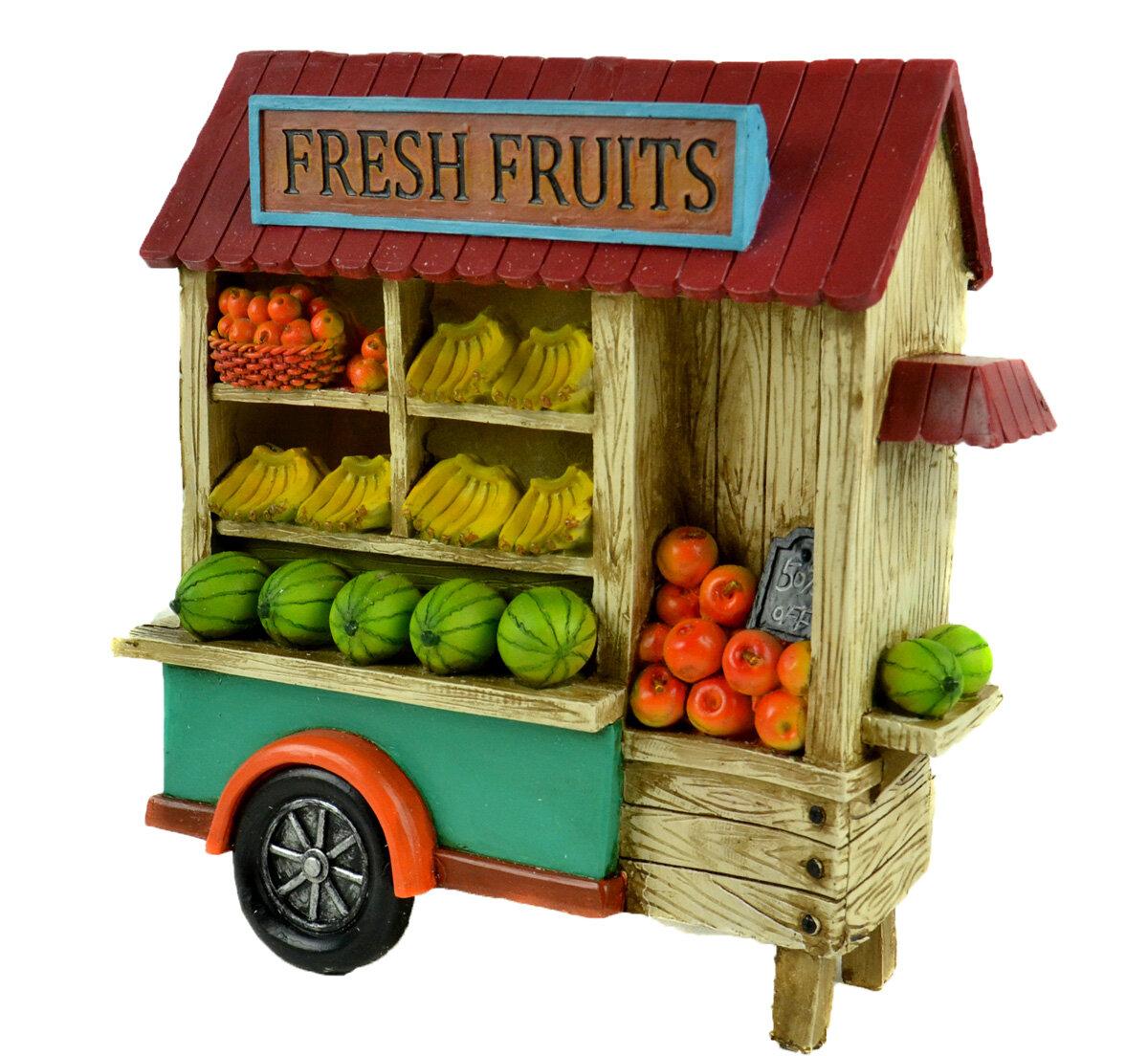 Winston Porter Northway Led Fresh Fruit Cart Wayfair Ca