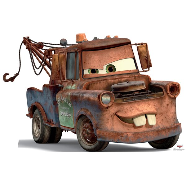Advanced Graphics Cars Disney S Mater Life Size Cardboard