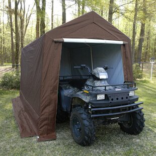 King Canopy 8 Ft. x 12 Ft. Stainless Steel Pop-Up Canopy