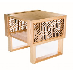 Mccune Geometric End Table