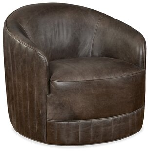 Living Room Turi Swivel Barrel Chair by Hooker Furniture