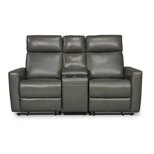 Pell Leather Reclining Loveseat by Latitu..
