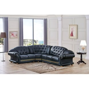 Francesco Leather Sectional