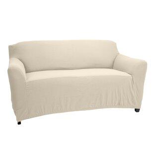 Loveseat Box Cushion Slipcover