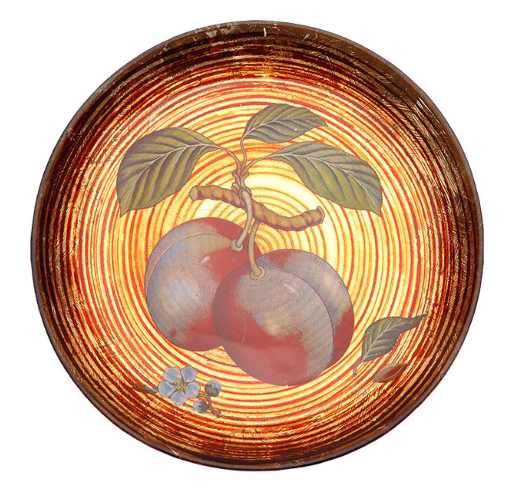 Prime Dinnerware Fruit Swirl Apple 8 Dinner Plate Wayfair