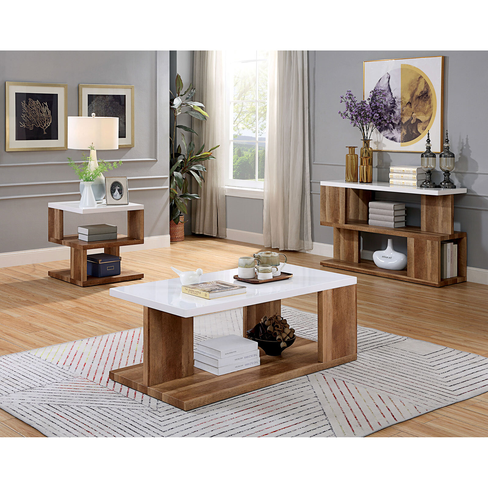 Union Rustic Coffee Table Sets You Ll Love In 2021 Wayfair Ca
