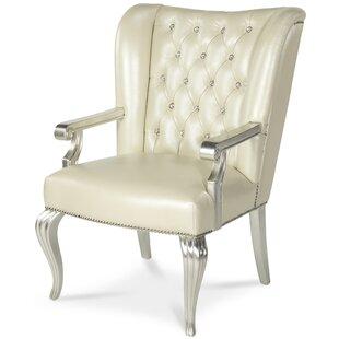 Michael Amini (AICO) Hollywood Swank Leather Desk Chair