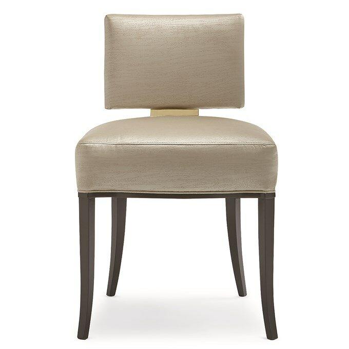 Caracole Classics Sateen Upholstered Dining Chair Wayfair