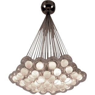 Meier 37-Light Cluster Pendant by Orren Ellis