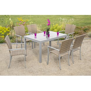 Dunmall 6 Seater Dining Set By Sol 72 Outdoor