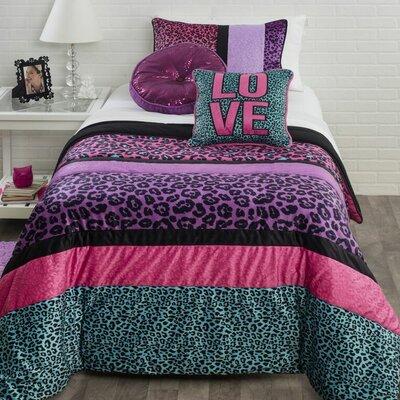 Seventeen Pop Cheetah Comforter Set | Wayfair