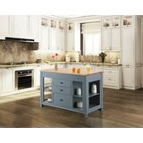 Casen Kitchen Island by August Grove®