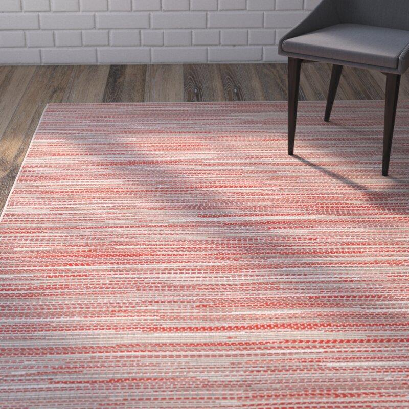Zipcode Design Juda Sand/Maroon Indoor/Outdoor Area Rug & Reviews ...