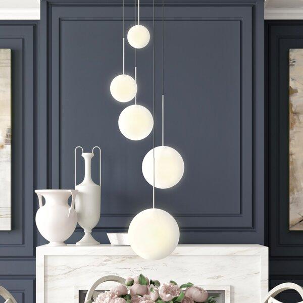 Pablo Designs Bola 5 Light Cluster Globe Led Pendant Perigold