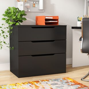 Avia 3-Drawer Filing Cabinet by Orren Ellis