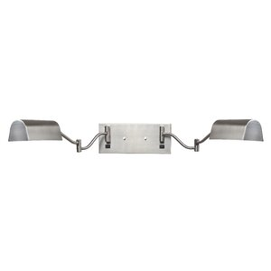 Wolk 2-Light Swing Arm