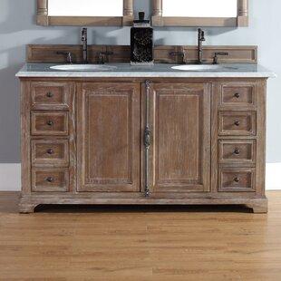 Ogallala 60 Double Driftwood Bathroom Vanity Set by Greyleigh