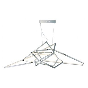 Orren Ellis Edelman 1-Light LED Geometric..